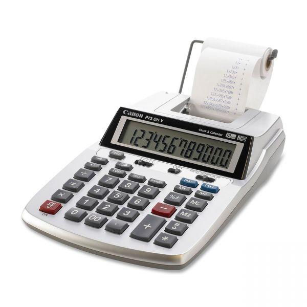 Canon P23DHV Portable Printing Calculator