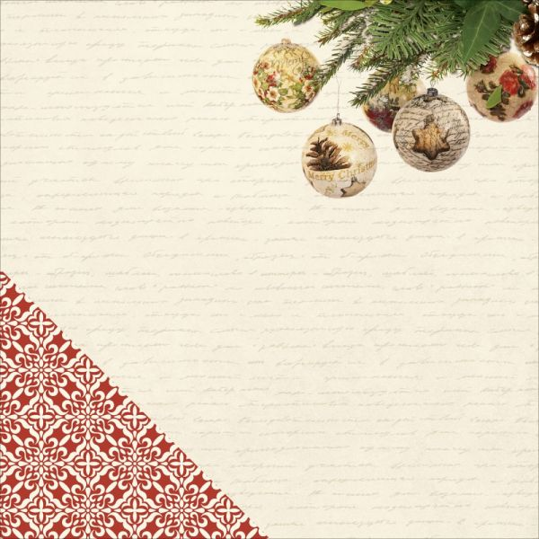 "Silent Night Double-Sided Cardstock 12""X12"""