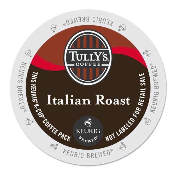 Tully's Coffee Italian Roast Coffee K-Cups
