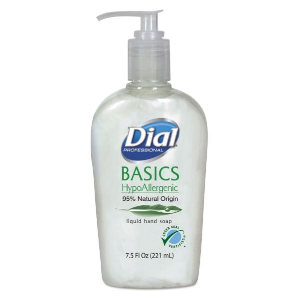 Dial Basics Hypoallergenic Liquid Hand Soap