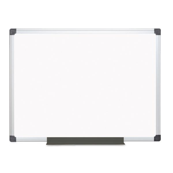 MasterVision Value 4' x 3' Magnetic Dry Erase Board