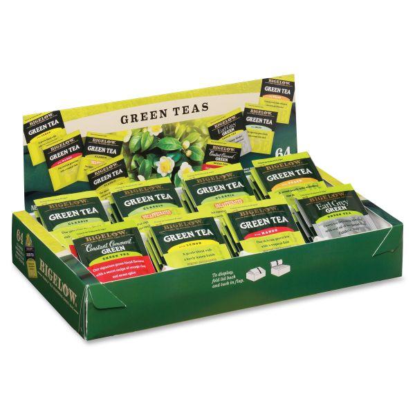 Bigelow Assorted Green Tea Tray Pack