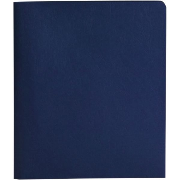 Smead Heavyweight Dark Blue Two Pocket Folders