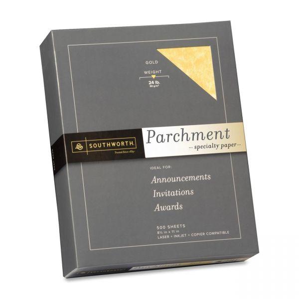 Southworth Fine Gold Parchment Paper