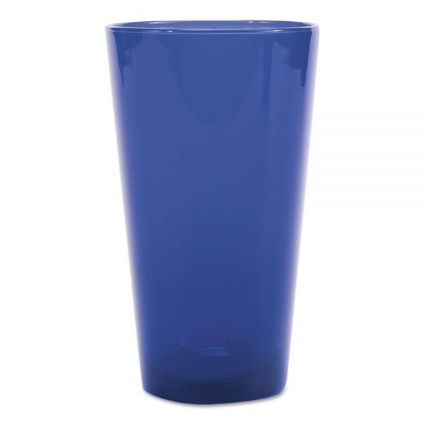 Libbey Cobalt Blue Cooler Beverage Glasses