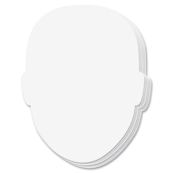 Face-Shaped Student Whiteboard