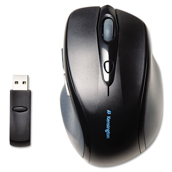 Kensington Pro Fit Full-Size Wireless Mouse, Right, Black