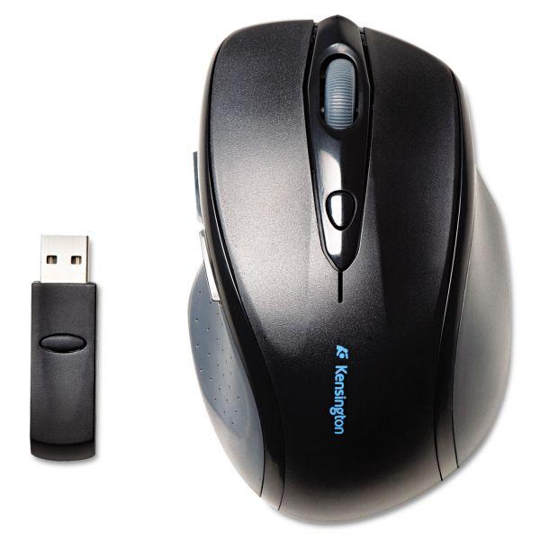Kensington Pro Fit Full-Size Wireless Mouse, Right, Black