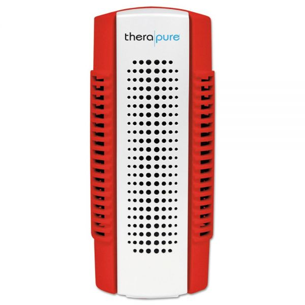Therapure Mini Plug-In Collection Blade Air Purifier, One Speed, Red