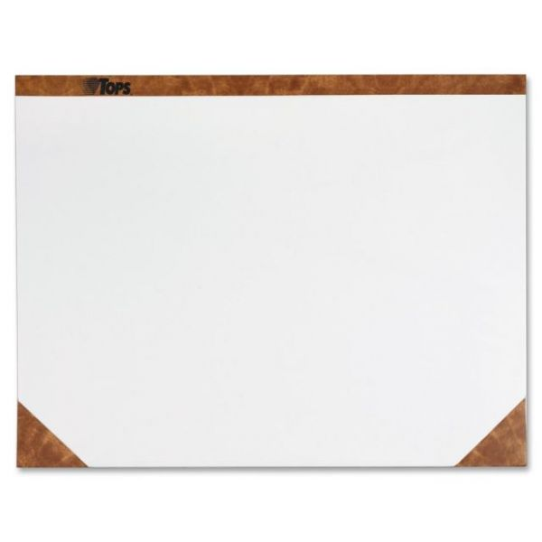 TOPS Plain Paper Desk Pads