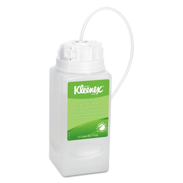 Kleenex Green Certified Foaming Hand Soap Refills