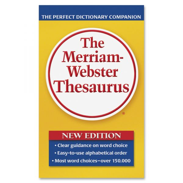 The Merriam-Webster's Thesaurus