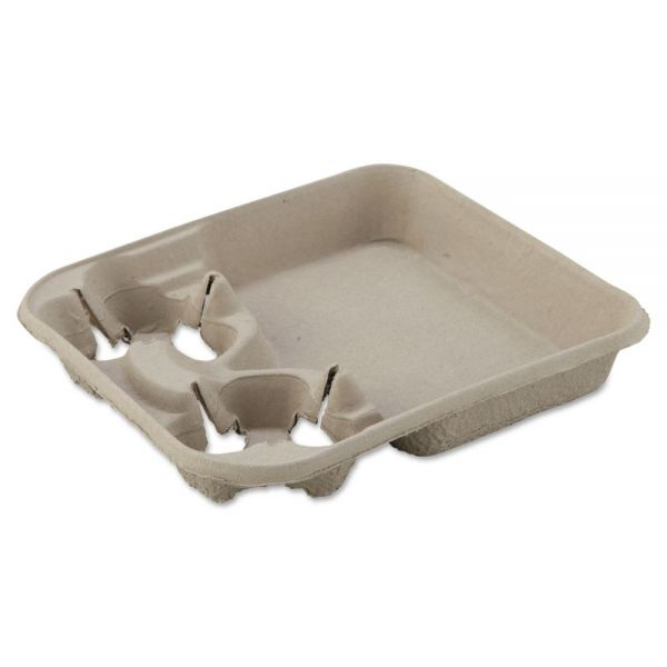 Chinet StrongHolder Molded Fiber Cup Tray