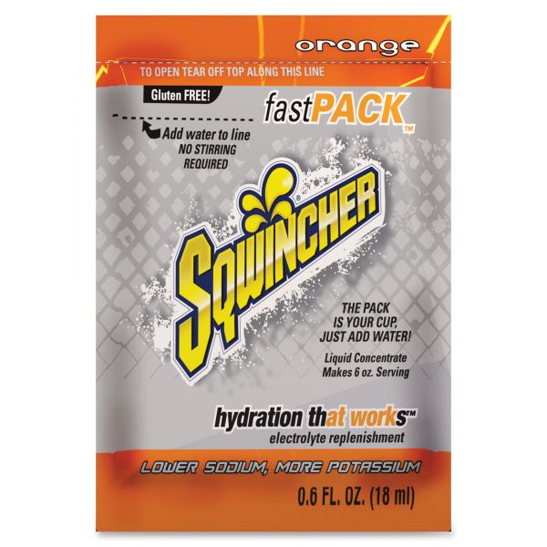 Sqwincher Fast Pack Drink Mix