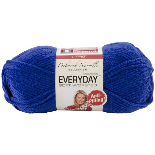 Deborah Norville Collection Everyday Soft Worsted Yarn - Royal Blue
