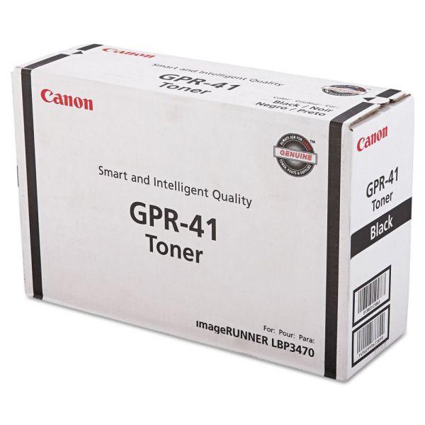 Canon GPR-41 Black Toner Cartridge (3480B005AA)