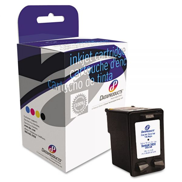 Dataproducts Remanufactured HP 21 Black Ink Cartridge
