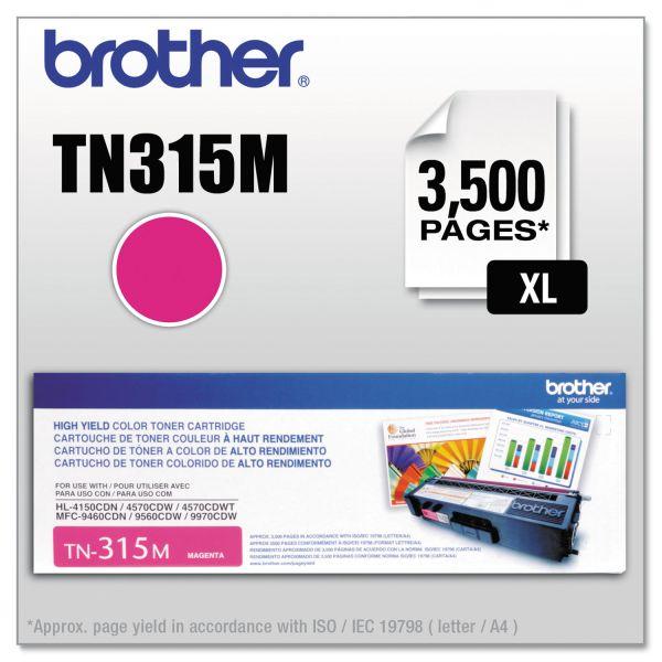 Brother TN315M High Yield Toner Cartridge