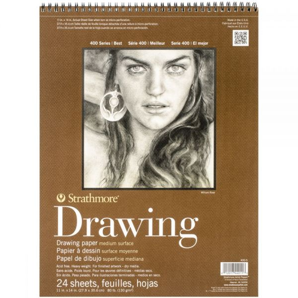Strathmore Acid Free Drawing Paper Pad