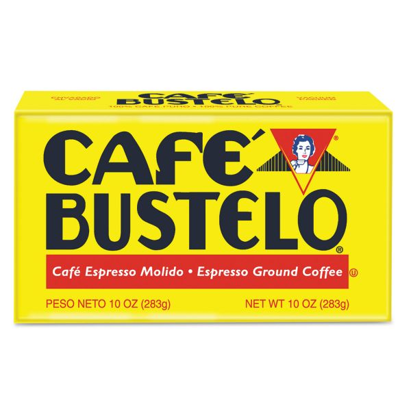 Cafe Bustelo Espresso Ground Coffee Brick (5/8 lb)