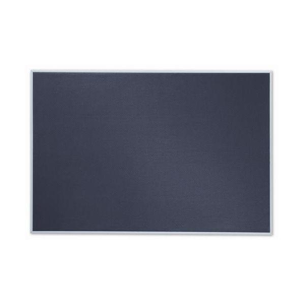 Quartet Matrix Gray Bulletin Board