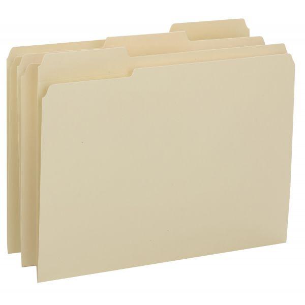 Smead Reinforced Tab Manila File Folders