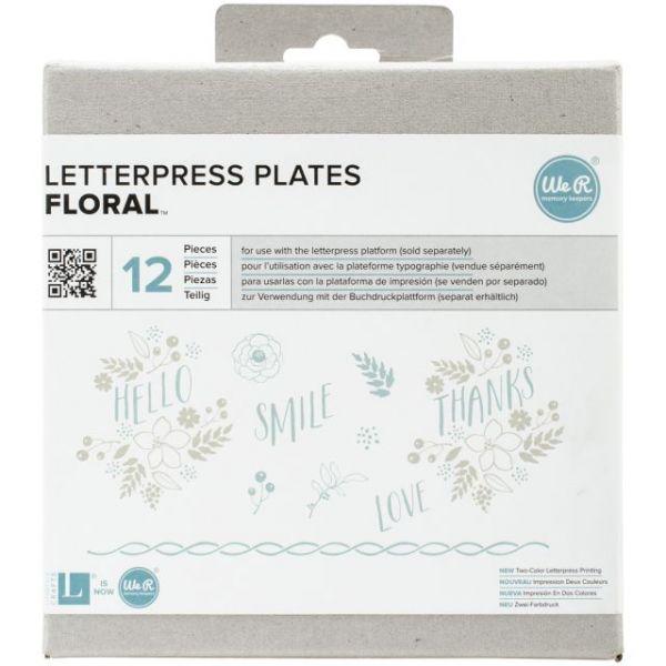 Lifestyle Letterpress Plates