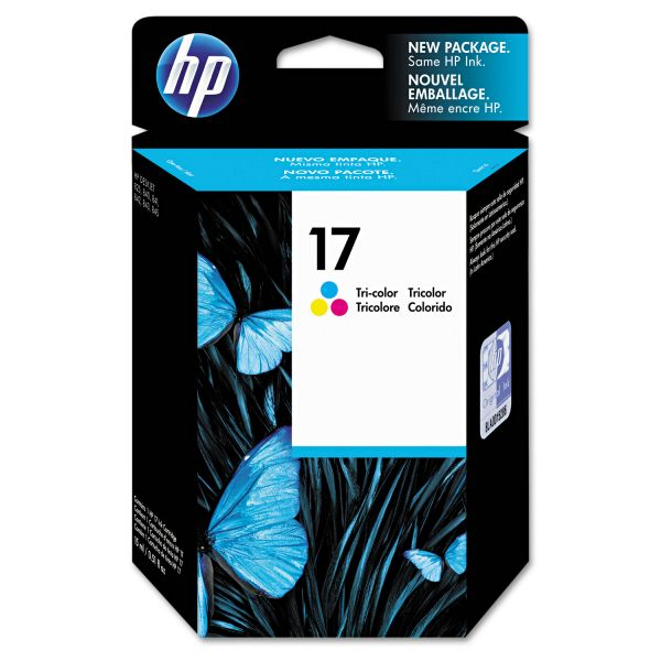 HP 17 Tri-Color Ink Cartridge (C6625A)