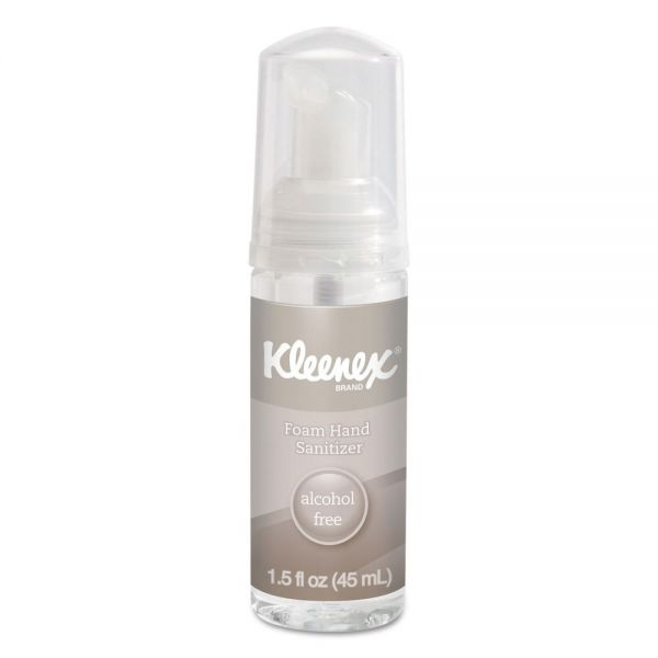 Kleenex Travel Size Foam Hand Sanitizer