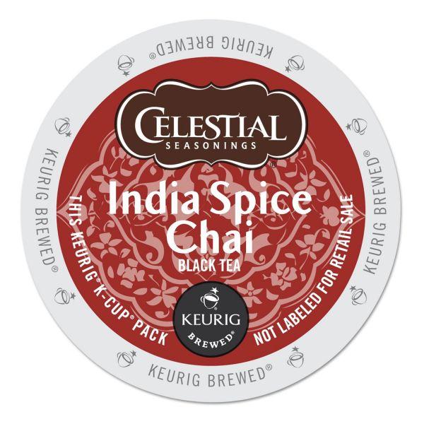 Celestial Seasonings India Spice Chai Tea K-Cups