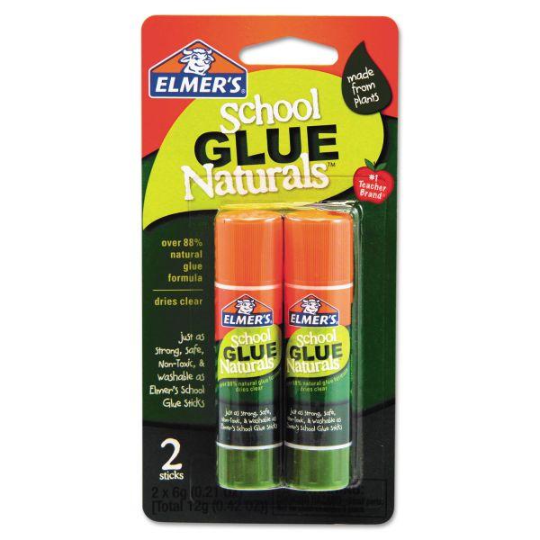 Elmer's School Glue Naturals Sticks