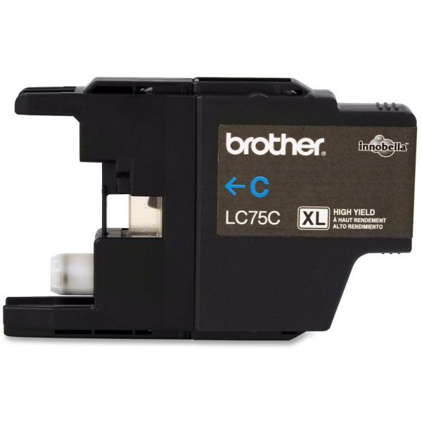 Brother LC75C Cyan High Yield Ink Cartridge