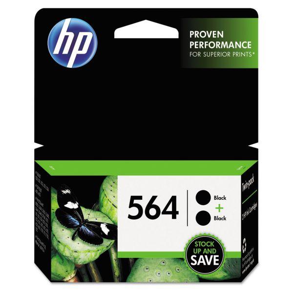 HP 564 Black Ink Cartridges (C2P51FN)