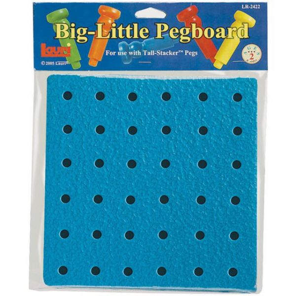 Big-Little Pegboard 8""