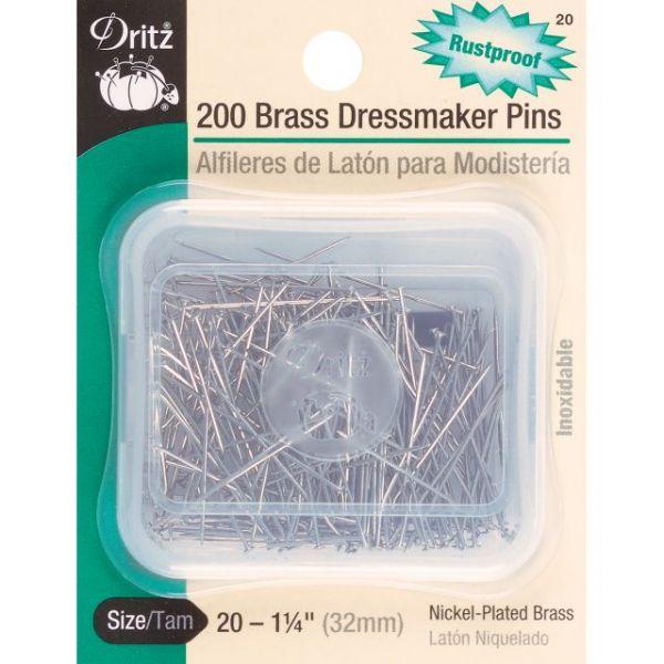 Brass Dressmaker Pins