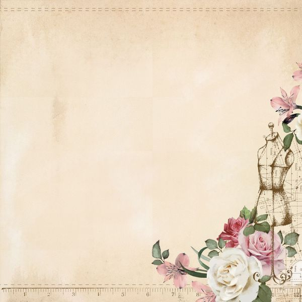 "Mademoiselle Double-Sided Cardstock 12""X12"""