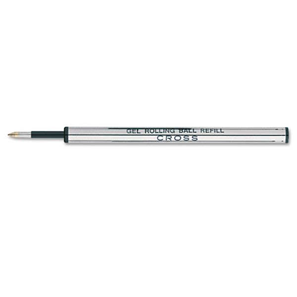 Cross Refills for Selectip Gel Roller Ball Pen, Medium, Black Ink