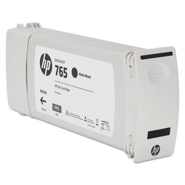 HP 765 Matte Black Ink Cartridge (F9J55A)