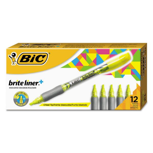 BIC Z4 Brite Liner Liquid Highlighters
