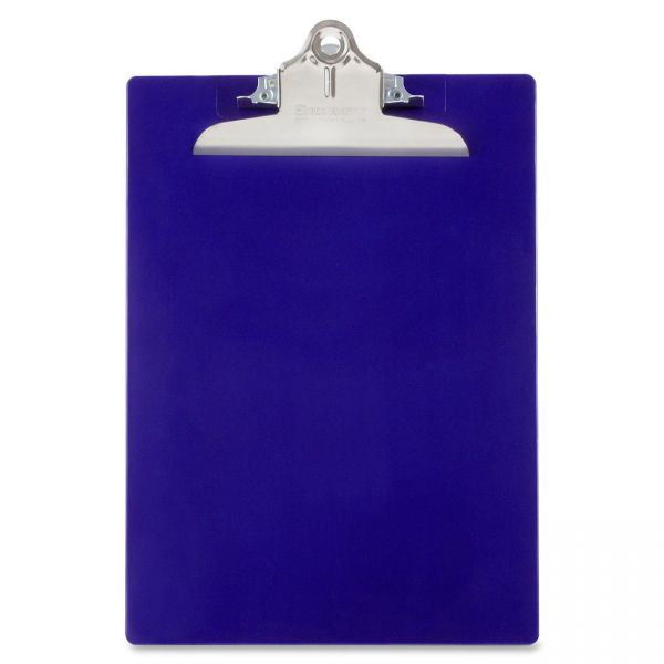 Saunders Recycled Blue Plastic Clipboard