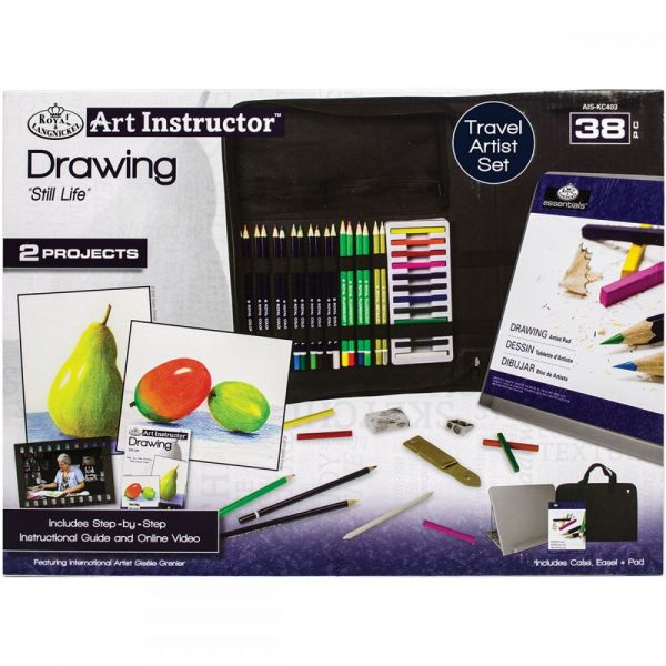 Art Instructor Drawing Travel Set