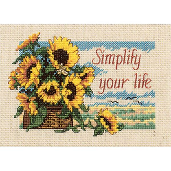 Dimensions Jiffy Simplify Your Life Counted Cross Stitch Kit