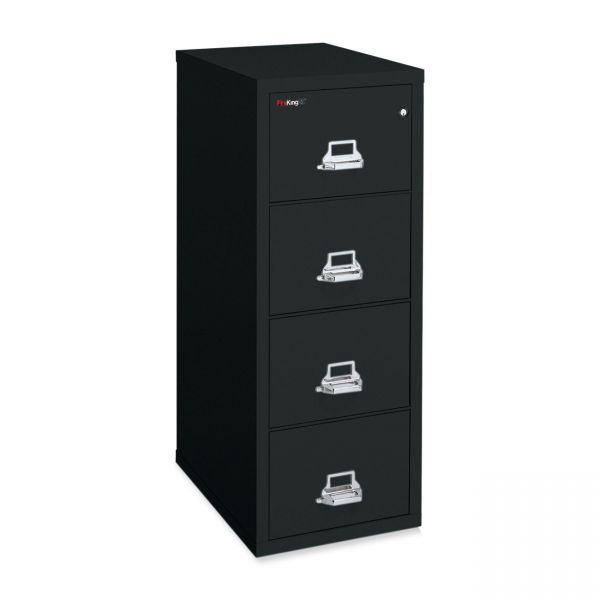 FireKing 4-Drawer Vertical File Cabinet