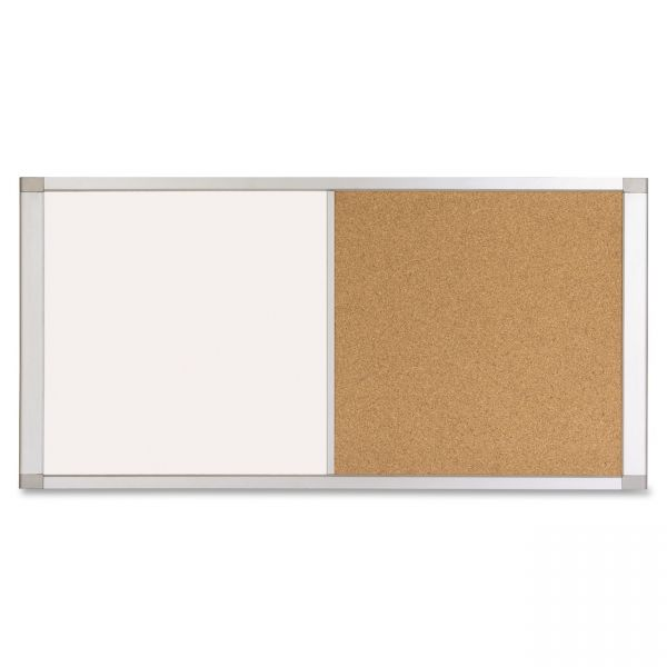 MasterVision Combo Cubicle Workstation Dry Erase/Cork Board