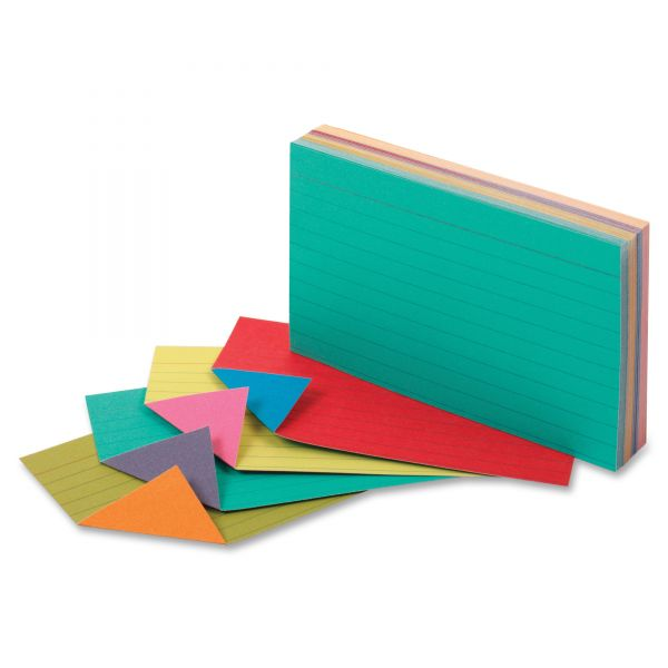 "Oxford 3"" x 5"" Ruled Extreme Index Cards"