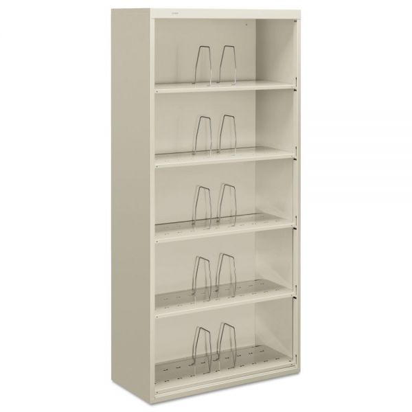 "HON Brigade 600 Series Shelf File | 5 Jumbo Height Shelves | Open Front | Legal Depth | 36""W"