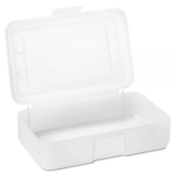 Advantus Gem Pencil Box with Lid