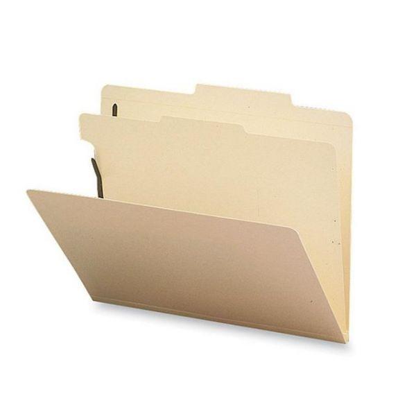 Sparco Manila 1-Divider Classification Folders