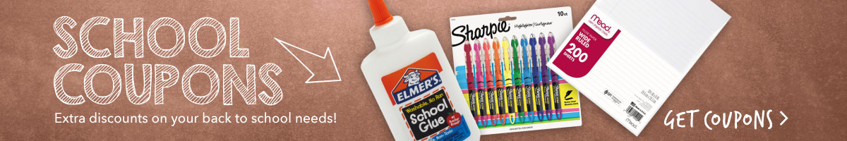 Back to School Coupons