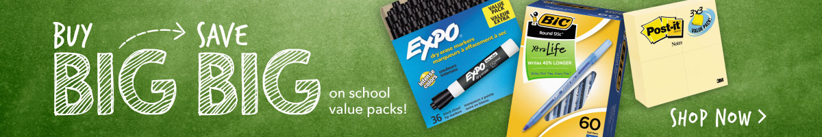 Back to School Value Packs